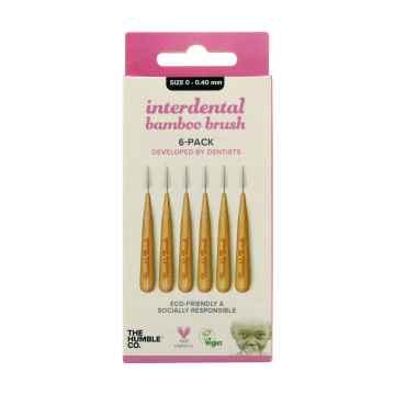 Humble Brush Bambusové mezizubní kartáčky velikost 0 (0,4 mm) 6 ks