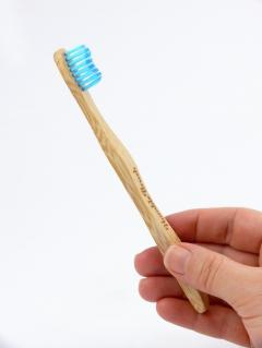Humble Brush Dětský kartáček na zuby Ultra soft 1 ks, 14,5 cm modrý