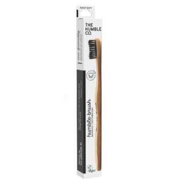 Humble Brush Zubní kartáček Soft (černý) 1 ks