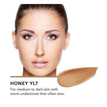 Inika Organic Tekutý make-up s kyselinou hyaluronovou, Honey 30 ml