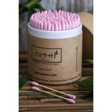 Joshi Cosmetics Bamboo pink 200 ks