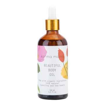 karma mama Tělový olej pro nastávající a čerstvé maminky 100 ml