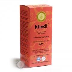 Khadí Rostlinná barva na vlasy Henna & amla & jatropha 100 g