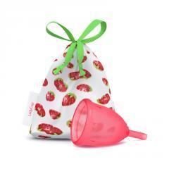 LadyCup Menstruační kalíšek S (menší), jahoda 1 ks