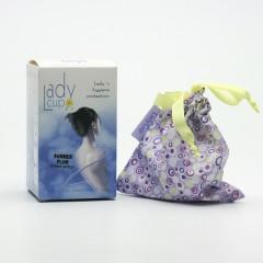 LadyCup Menstruační kalíšek L (větší), švestka 1 ks