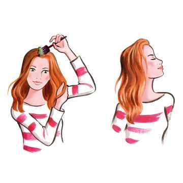 Les couleurs de Jeanne Barva na vlasy mahagonová 2 x 50 g