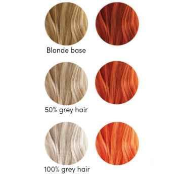 Les couleurs de Jeanne Barva na vlasy měděná 2 x 50 g
