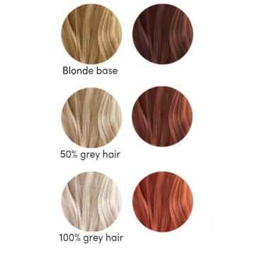 Les couleurs de Jeanne Barva na vlasy oříšková 2 x 50 g