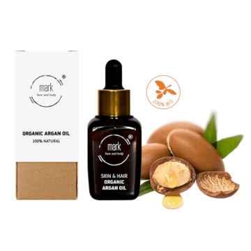 MARK face and body Pleťový olej MARK Organic Argan oil 30 ml
