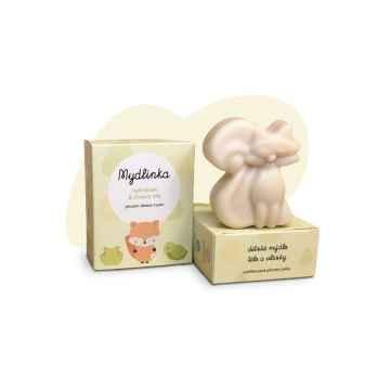 Mydlinka Dětské přírodní heřmánkové mýdlo, liška 90 ± 5 g