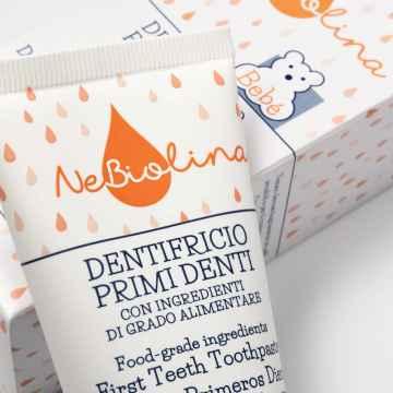 NeBiolina Bebé Dětská zubní pasta 50 ml