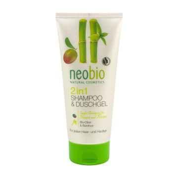 Neobio 2 v 1 sprchový gel a šampon 200 ml