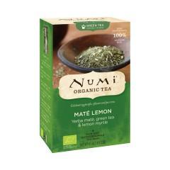 Numi Organic Tea Mate Lemon Green, zelený čaj ochucený 41,4 g, 18 ks
