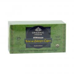 Organic India Čaj Tulsi Green, bio 43,5 g, 25 ks
