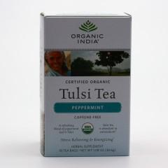 Organic India Čaj Tulsi Peppermint, bio 30,6 g, 25 ks