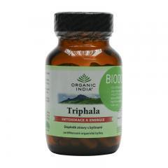 Organic India Triphala, kapsle, bio 60 ks