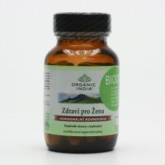 Organic India Zdraví pro ženu, kapsle 60 ks, 27 g