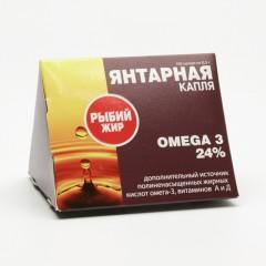 TML Rybí tuk Omega 3 100 kapslí