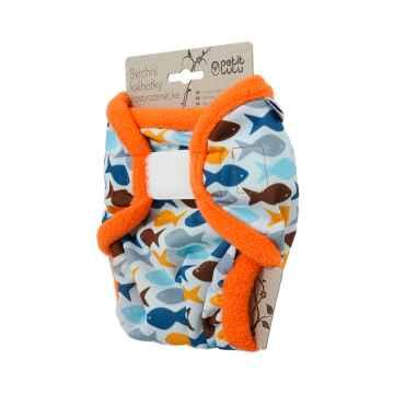 Petit Lulu Svrchní kalhotky novorozenecké 1 ks, rybky