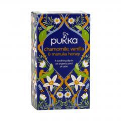 Pukka Čaj ayurvédský Chamomile, Vanilla and Manuka Honey, bio 32 g, 20 ks