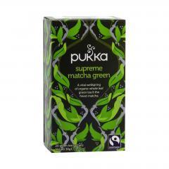 Pukka Čaj ayurvédský Supreme Matcha Green, bio 30 g, 20 ks