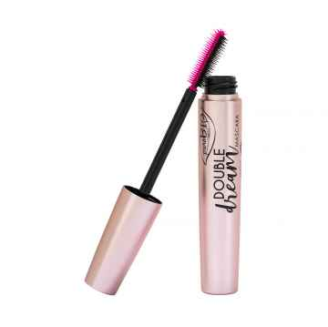 puroBIO cosmetics Double dream Řasenka 02 Brown 10 ml