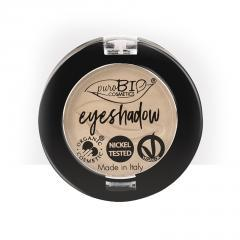 puroBIO cosmetics Minerální oční stíny 02 Dove-Grey 2,5 g
