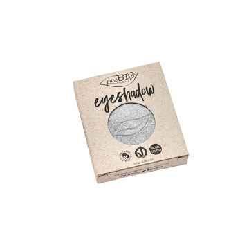 puroBIO cosmetics Minerální oční stíny 23 Silver 2,5 g, náplň