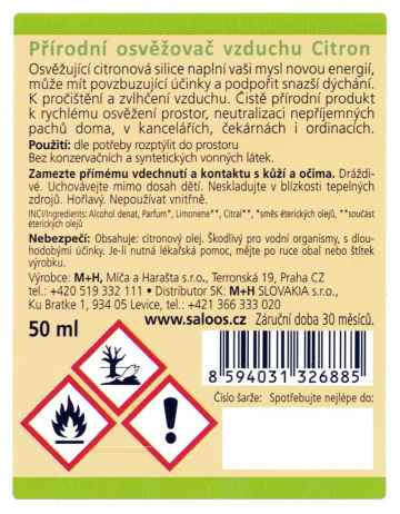 Saloos Natur Aroma Citron 50 ml