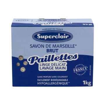 Superclair Vločky na praní z marseillského mýdla 1 kg