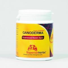 Superionherbs Ganoderma Reishi, Spor 2*90 kapslí