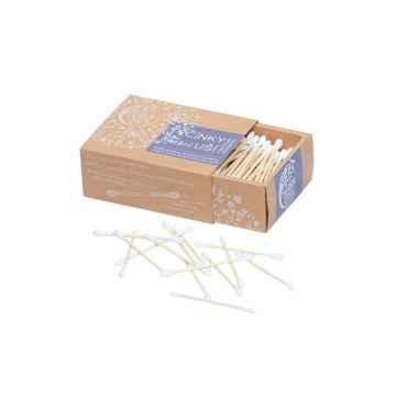 Tierra Verde Tyčinky bambusové do uší 200 ks