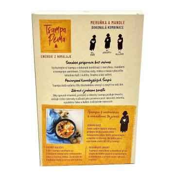 Tsampa Pema Pražený ječmen, meruňka a mandle 400 g