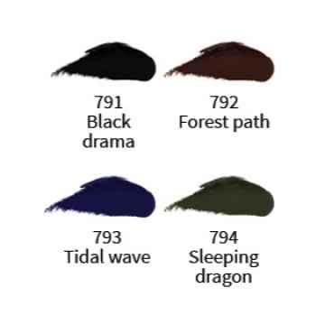 Uoga Uoga Krémové oční linky 791 Black Drama 2,5 ml