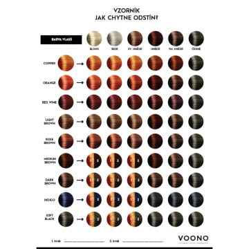 VOONO Henna Wine Red 100 g