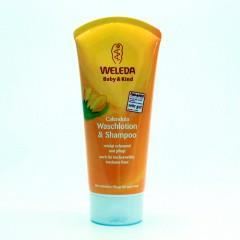 Weleda Měsíčkový dětský šampon 200 ml