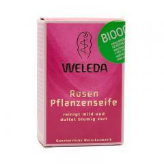 Weleda Růžové rostlinné mýdlo 100 g