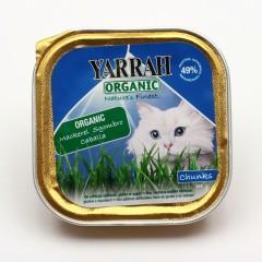 Yarrah Kousky kuřecí s makrelou pro kočky 100 g