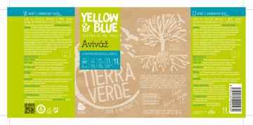 Yellow and Blue Aviváž s levandulovou silicí 1 l