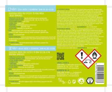 Yellow and Blue Puer bělicí prášek a odstraňovač skvrn na bázi kyslíku 1 kg dóza