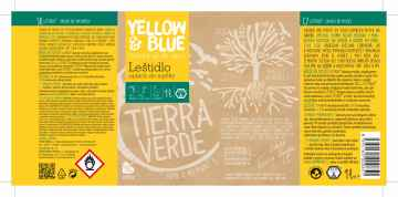 Yellow and Blue Leštidlo - Oplach do myčky nádobí 1 l