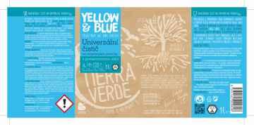 Yellow and Blue Univerzální čistič 1 l