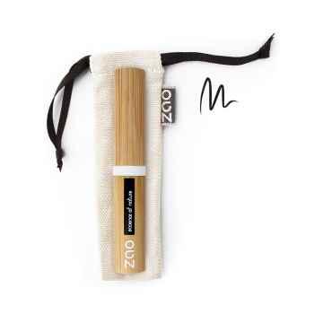 ZAO Tekuté oční linky s pevným hrotem 066 Black 4,5 g bambusový obal