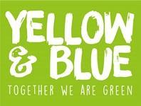 Přírodní značka Yellow and Blue